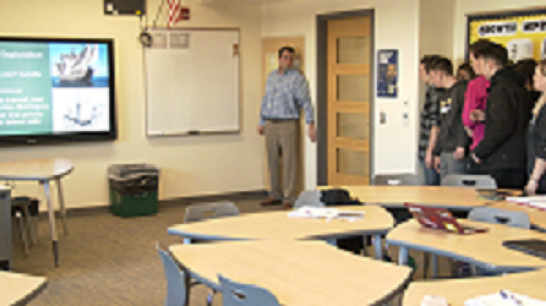 photo of teens in classroom